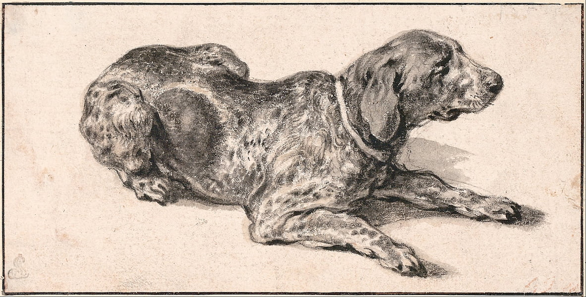 Chien inclinable - Aelbert Cuyp