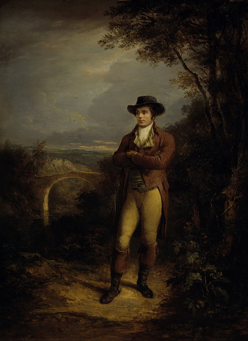 Robert Burns, 1759 - Alexander Nasmyth