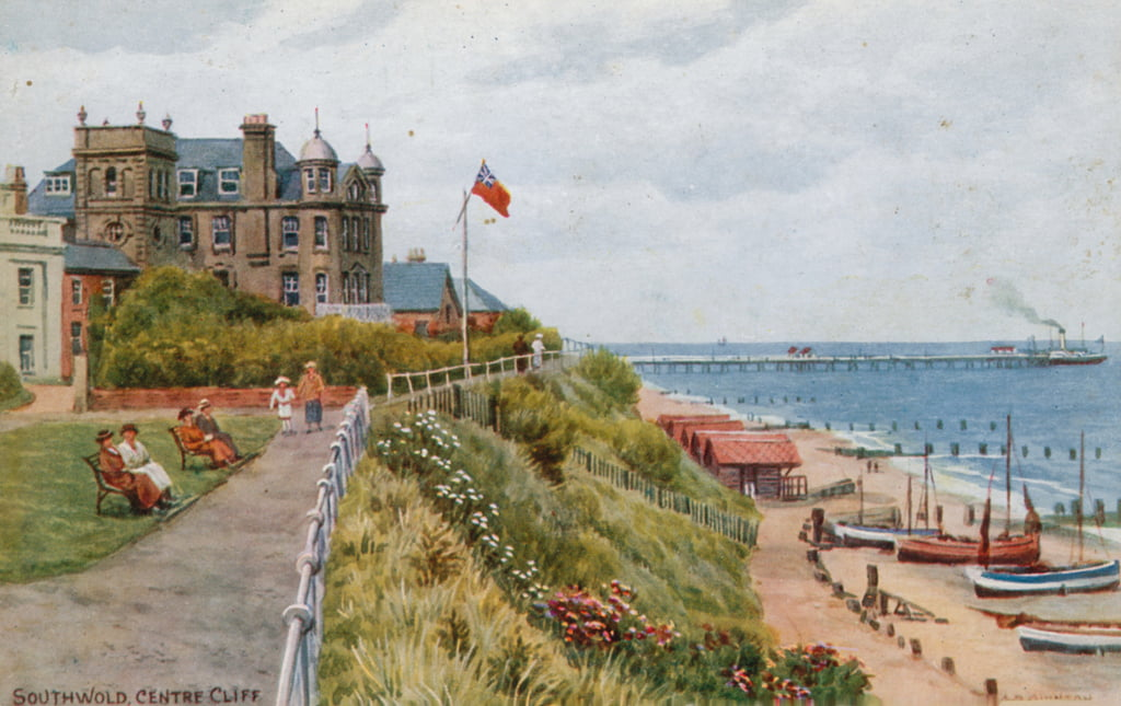 Southwold, Centre Cliff - Alfred Robert Quinton