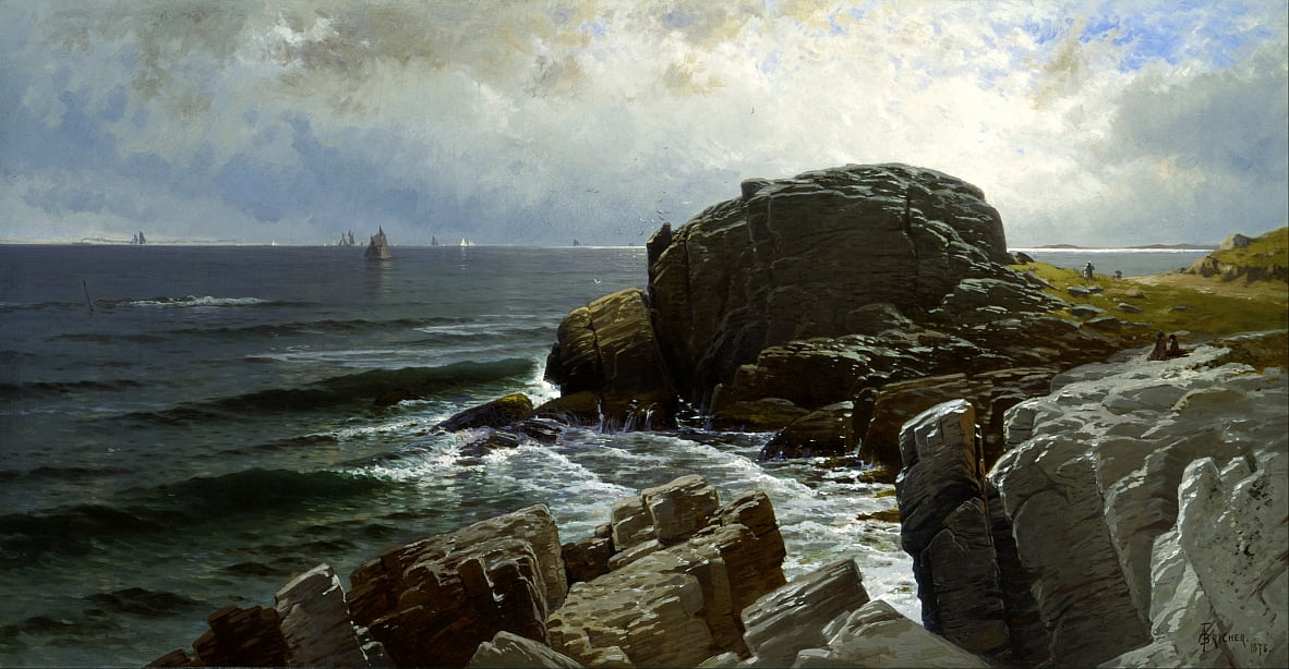 Castle Rock, Marblehead - Alfred Thompson Bricher