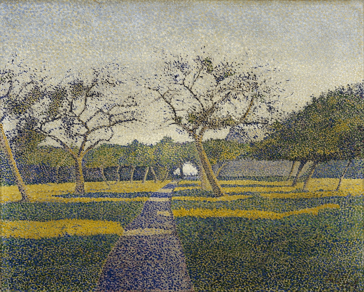 Orchard à La Louvière - Alfred William Finch