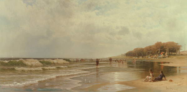 Long Branch, New Jersey, 1880 - Alfred Thompson Bricher