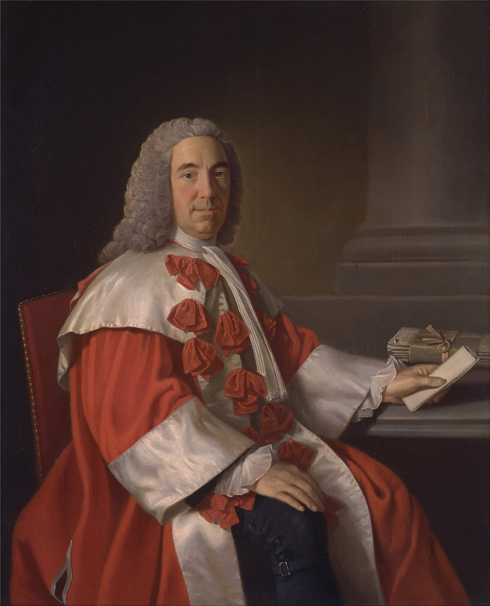 Alexander Boswell, Lord Auchinleck - Allan Ramsay