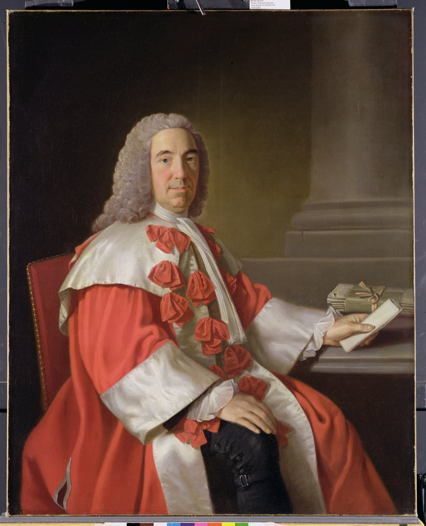 Alexander Boswell, Lord Auchinleck, v.1754-55 - Allan Ramsay