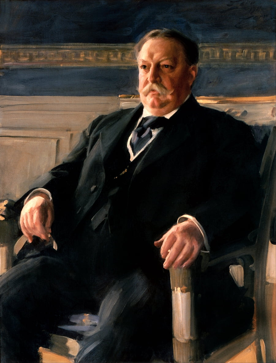 William Howard Taft - Anders Leonard Zorn