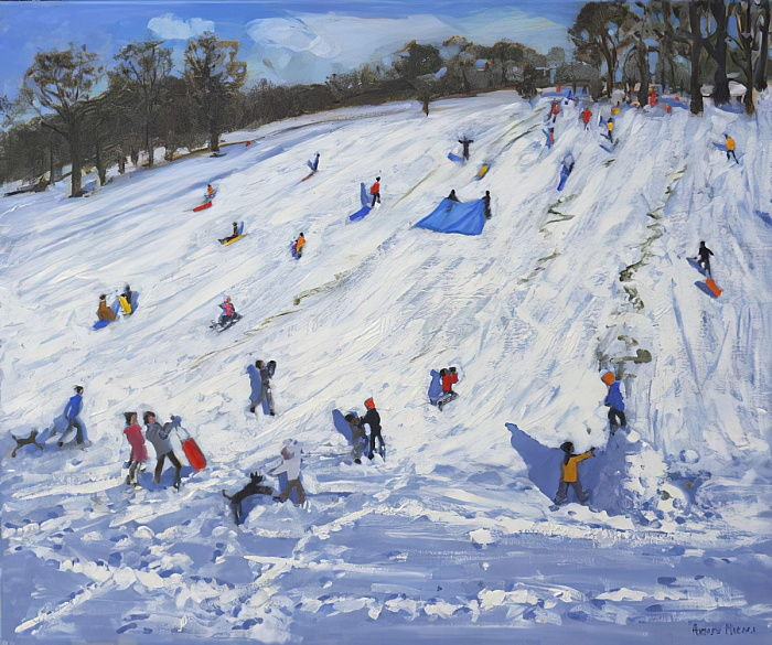 Grand bonhomme de neige, Chatsworth, 2012, - Andrew Macara