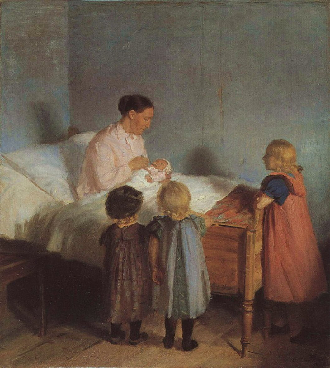 Little Brothern - Anna Ancher