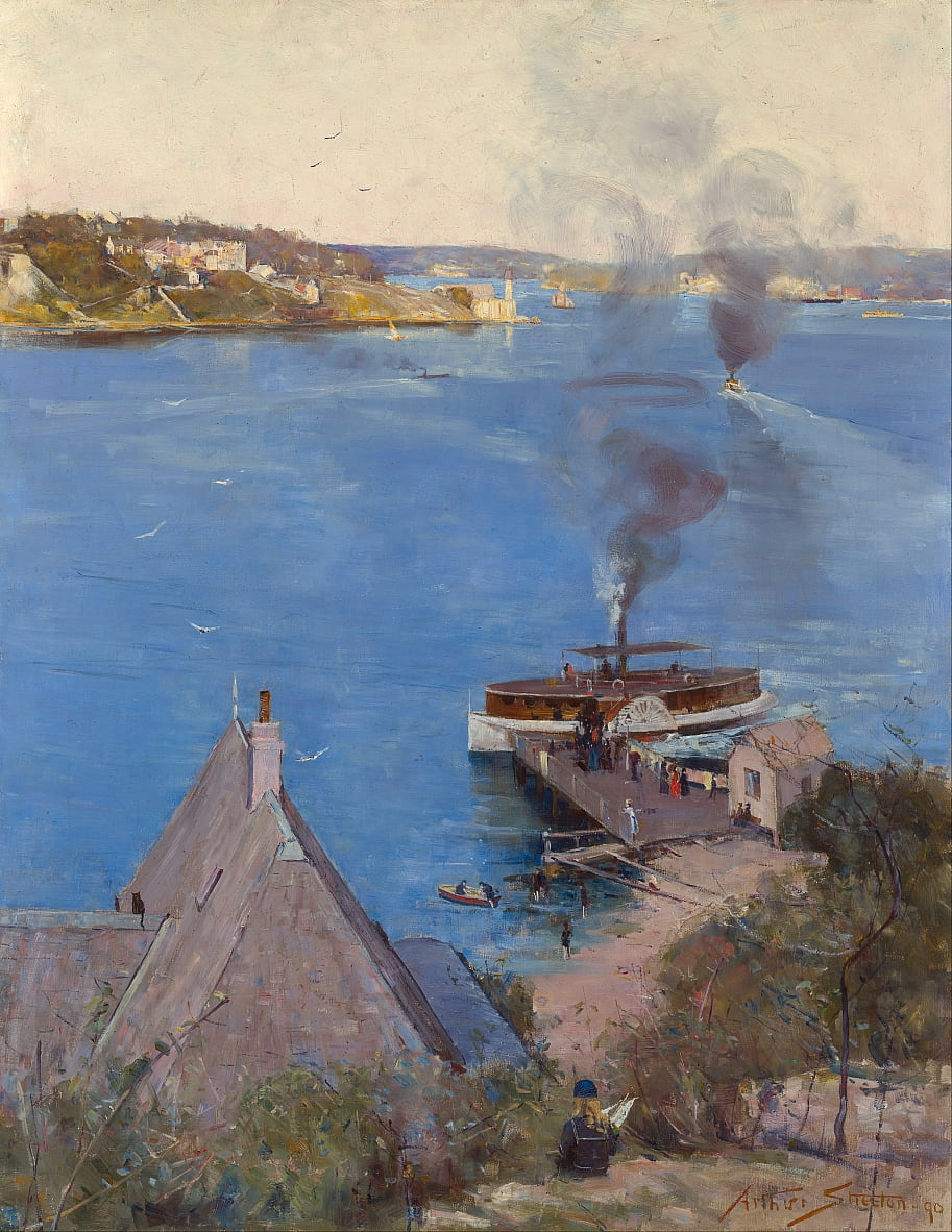 De McMahons Point - Arthur Streeton