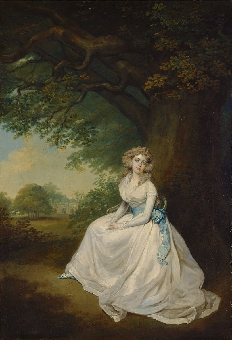 Lady Chambers - Arthur Devis