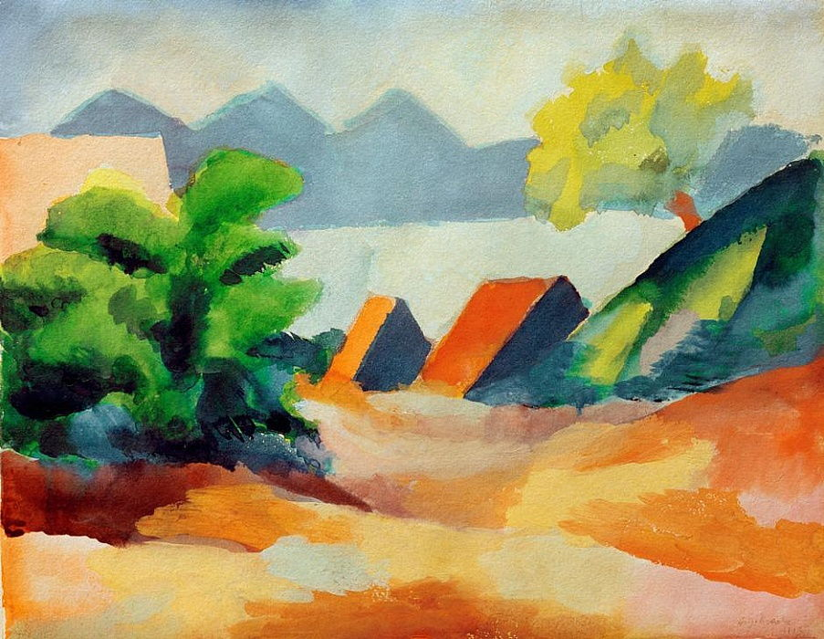 Suis Thuner See I - August Macke