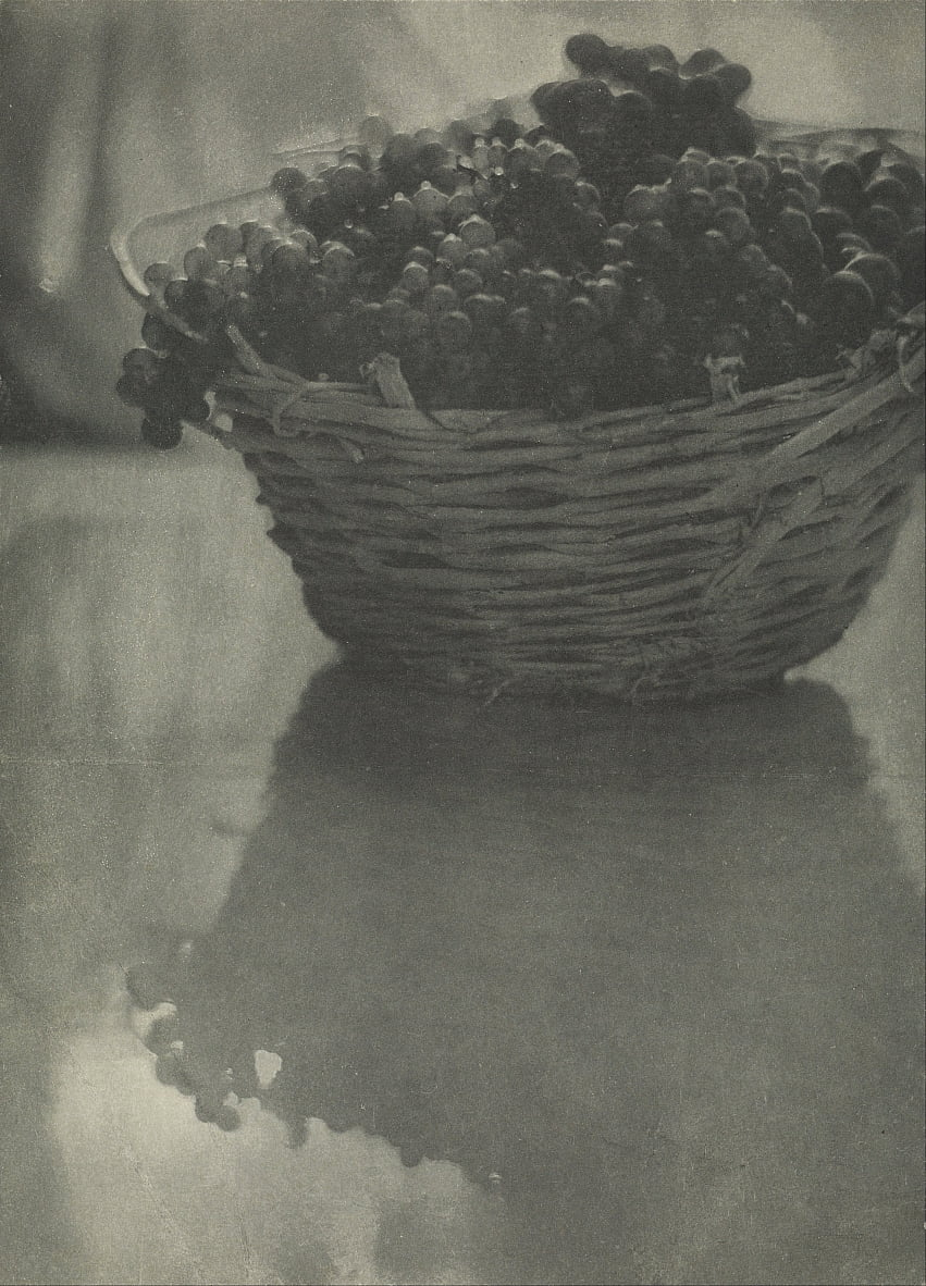Nature morte aux raisins - Baron Adolf De Meyer