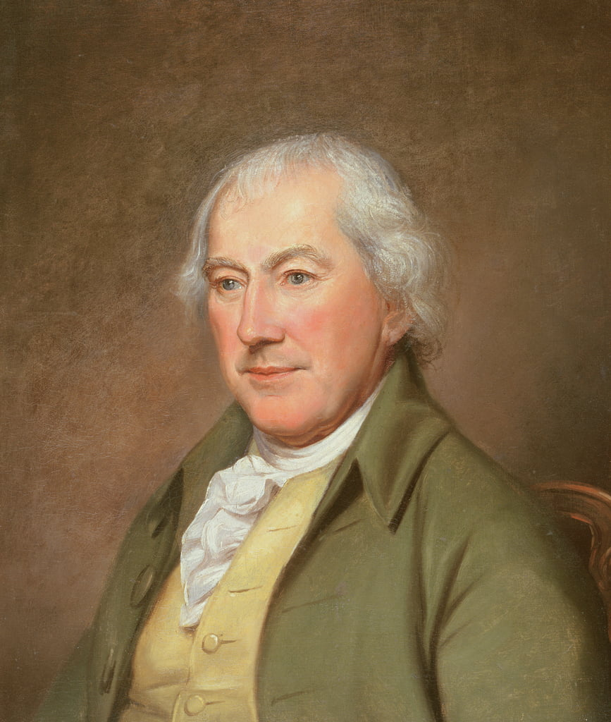 John Beale Bordley (1727-1804) vers 1790 - Charles Willson Peale