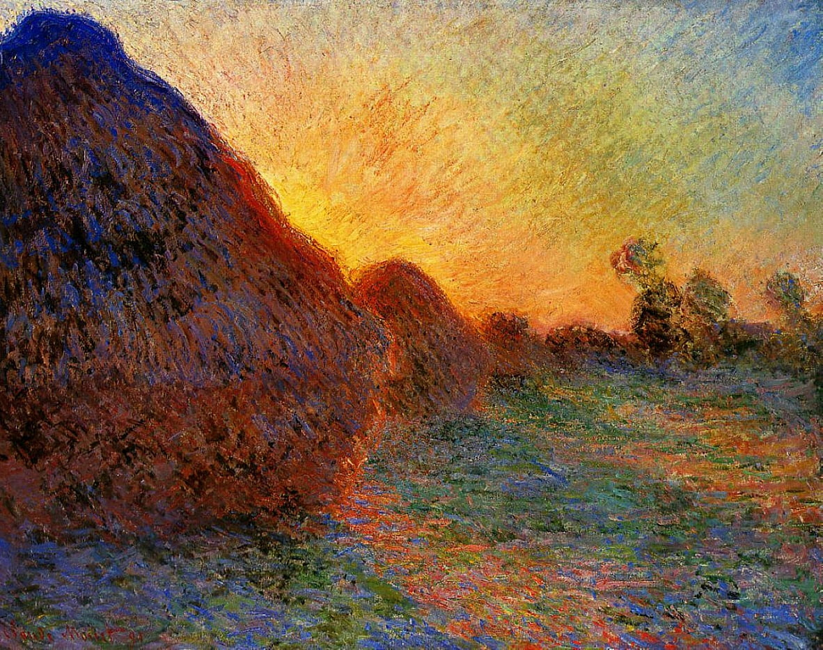 Meulesn - Claude Monet
