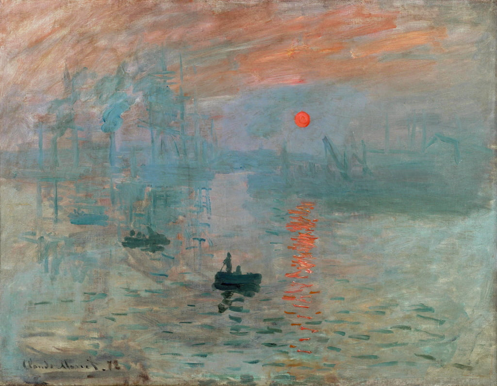 Impression: Sunrise, 1872 - Claude Monet