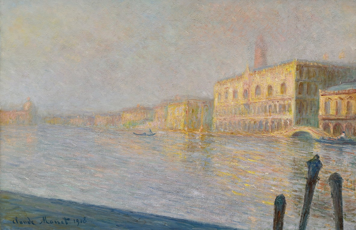 Le Palais Ducal - Claude Monet