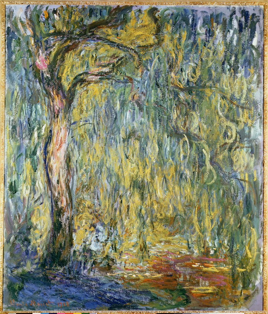 The Large Willow à Giverny, 1918 - Claude Monet