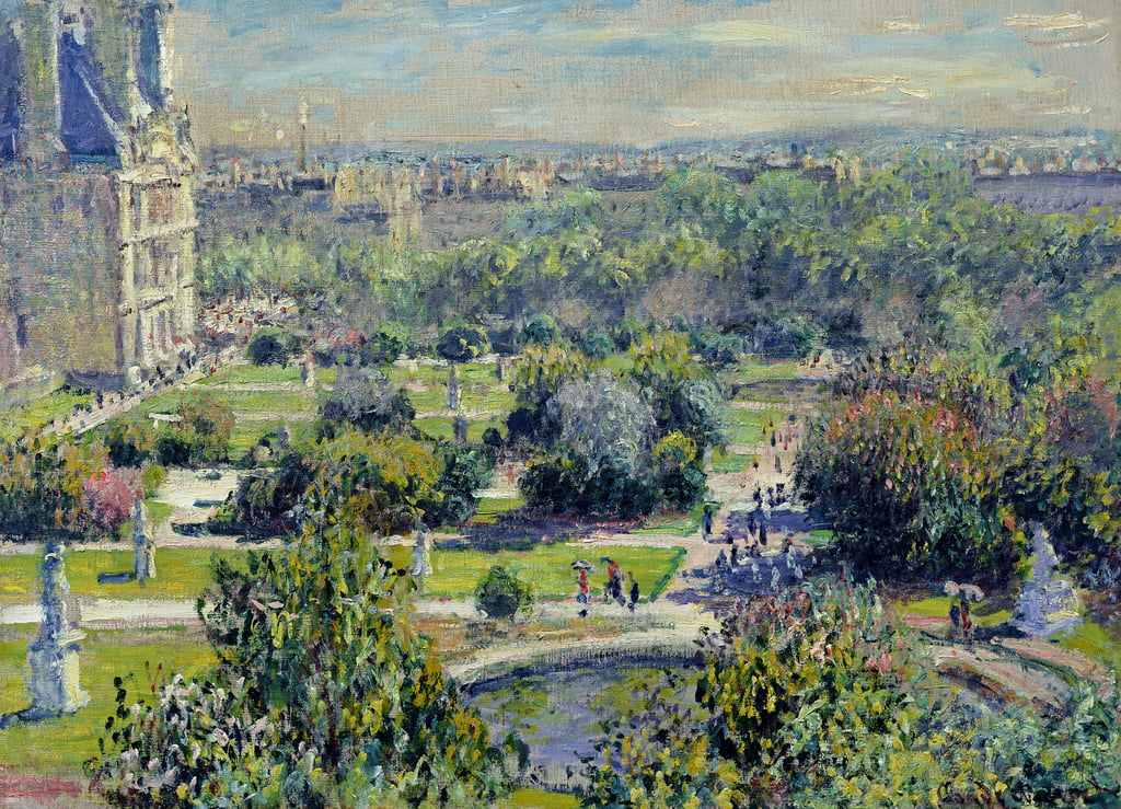 Vue des jardins des Tuileries, Paris, 1876 - Claude Monet