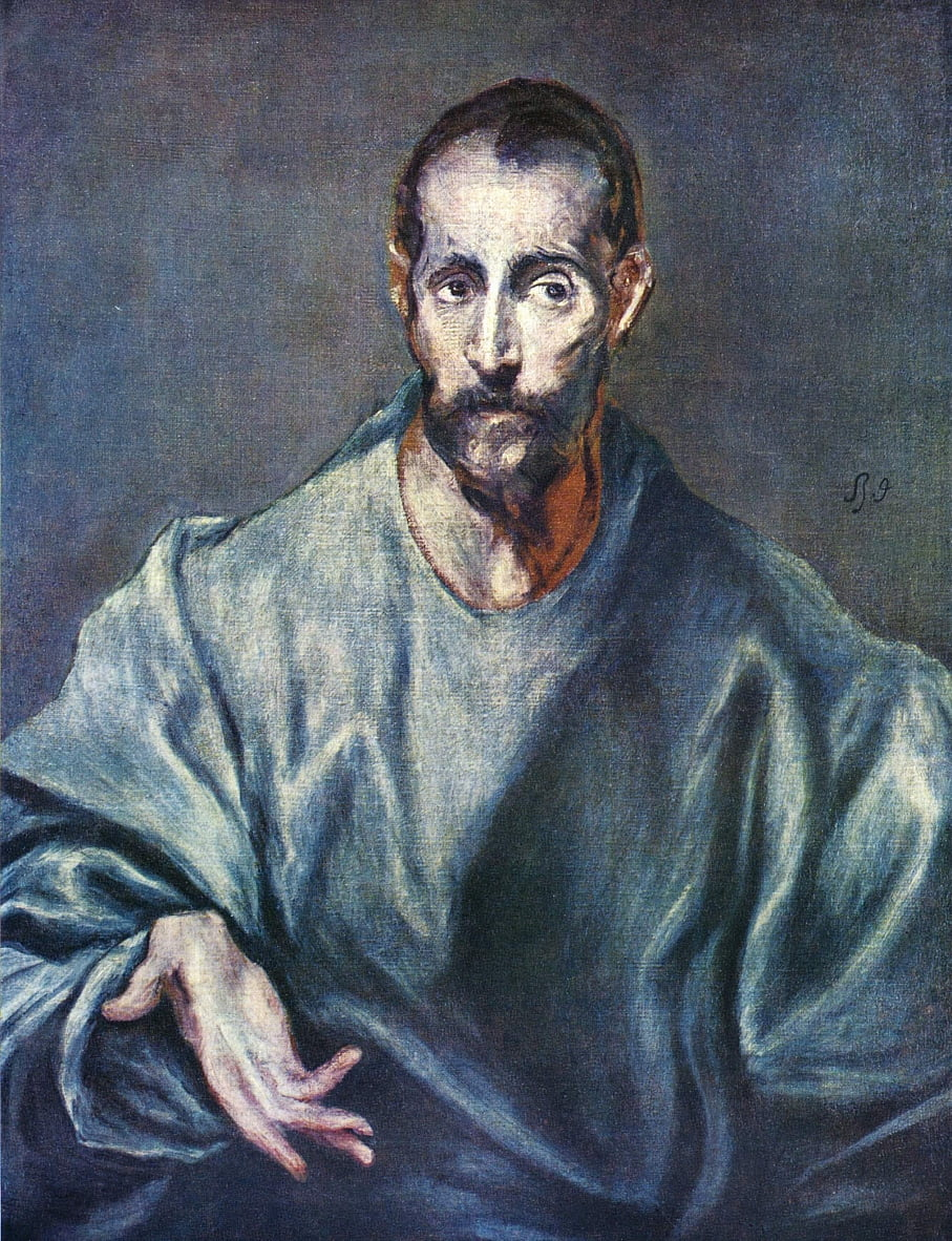 Hl. Jacobus Major - El Greco