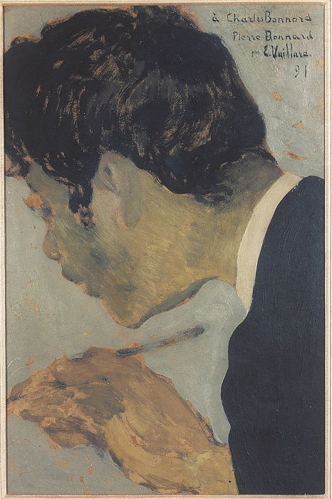 Portrait of Pierre Bonnard 1867-1947, 1891 - Edouard Vuillard