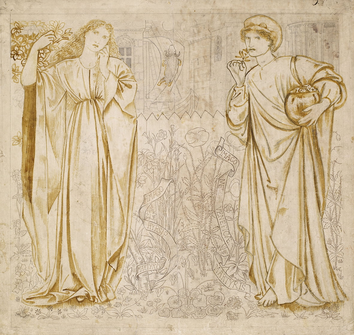 Chaucers Legend of Good Women - Edward Burne Jones