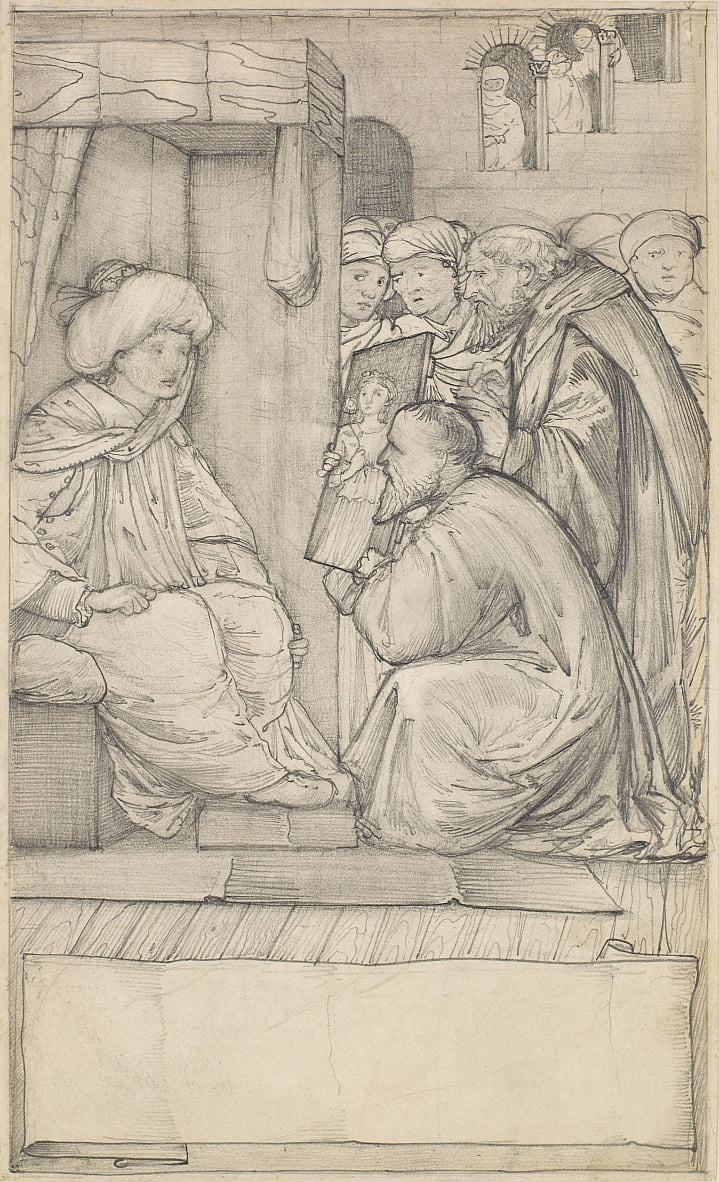 Chaucers Man of Laws Tale - Edward Burne Jones