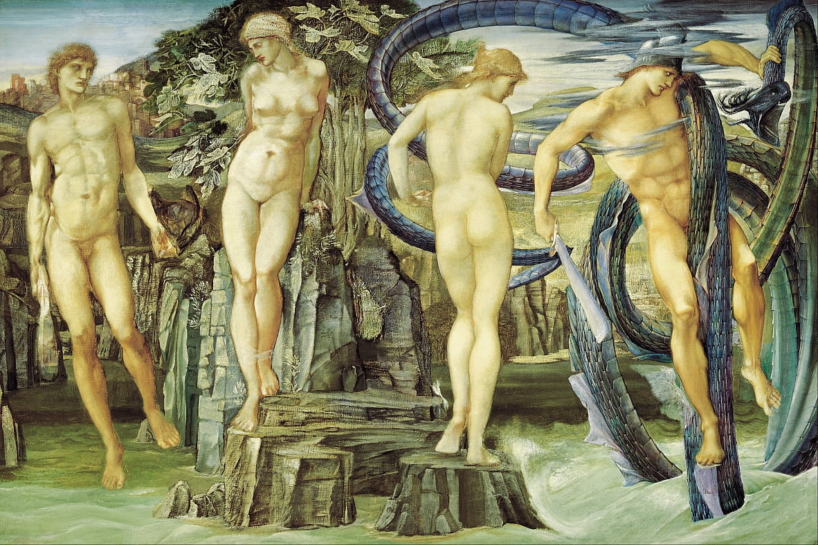 Persée et Andromède - Edward Burne Jones