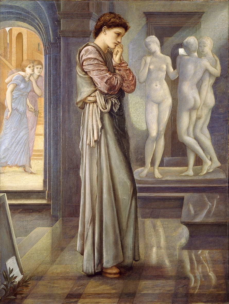 Pygmalion et limage - Edward Burne Jones