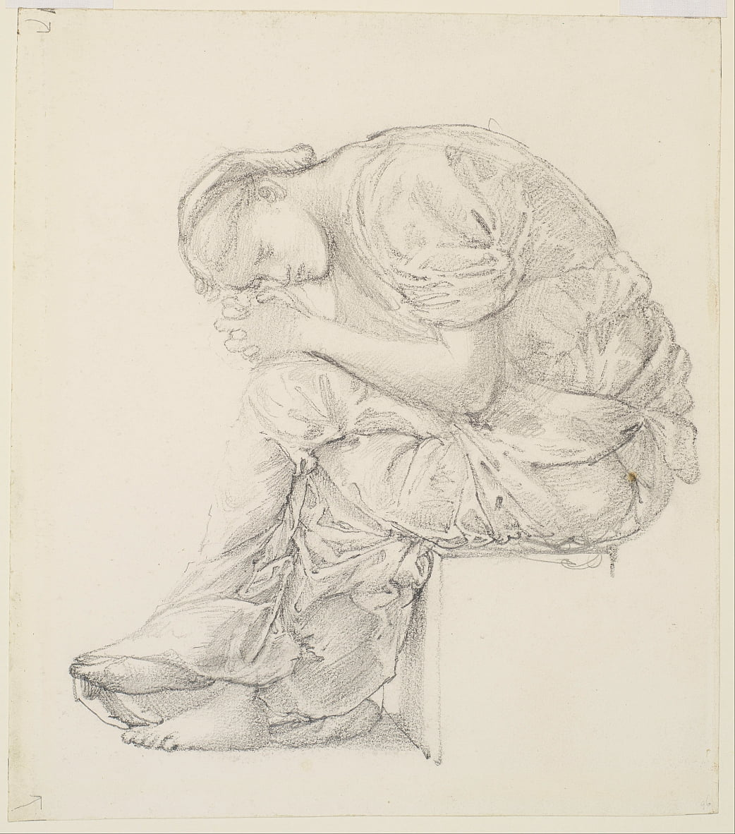 The Lament - Edward Burne Jones