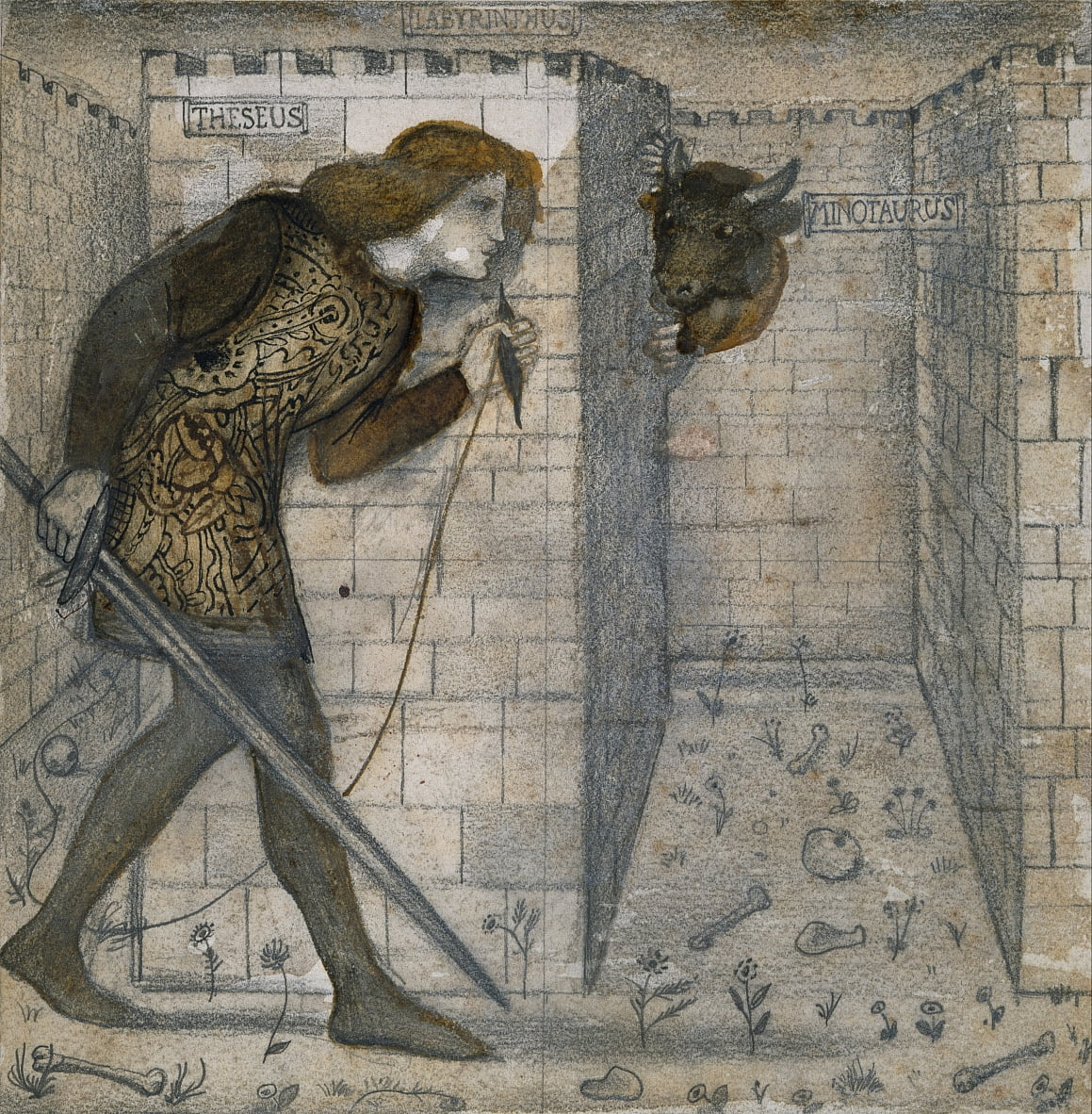 Carrelage - Edward Burne Jones