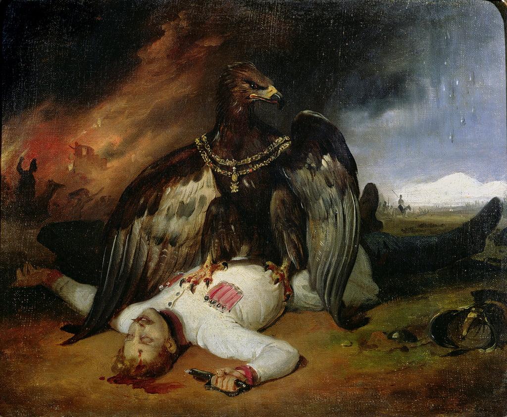Le Prométhée polonais, 1831 - Emile Jean Horace Vernet