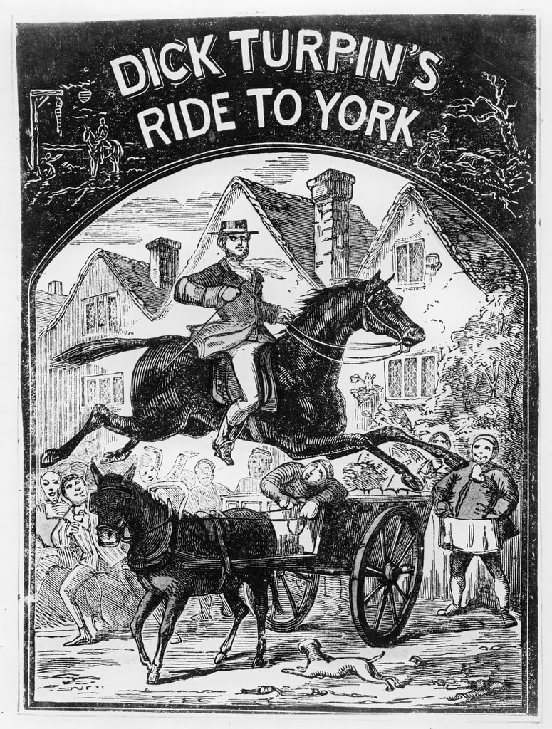 Tour de Dick Turpin (1705-1739) à York - English School
