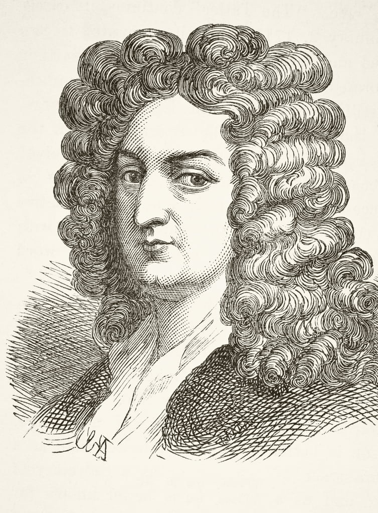 Joseph Addison, de «L&39;histoire nationale et domestique de l&39;Angleterre» par William Hickman Smith Aubrey (1858-1916) a publié Londres, c.1890 - English School