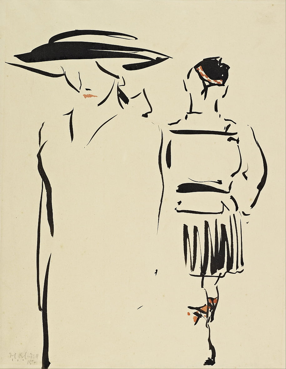 La Parting - Francis Campbell Boileau Cadell