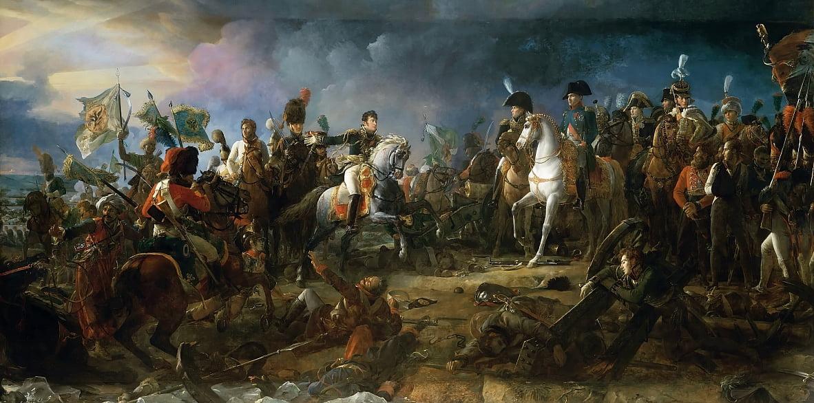 La bataille dAusterlitz - Baron François Pascal Simon Gérard