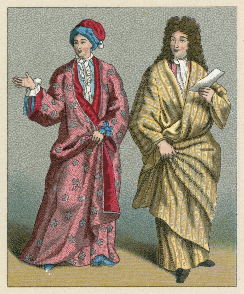 Costume de France XVII-XVIIIème - French School