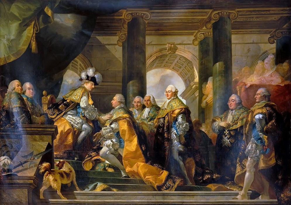 Louis XVI reçoit à Reims l'hommage des Cheva...