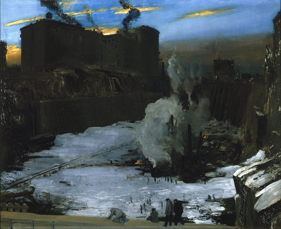Pennsylvanie Station Excavation - George Wesley Bellows