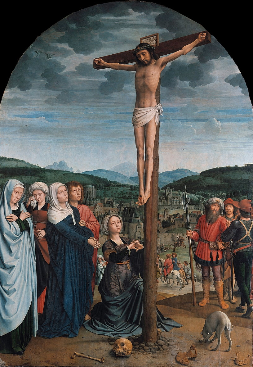 Christ en croix - Gerard David