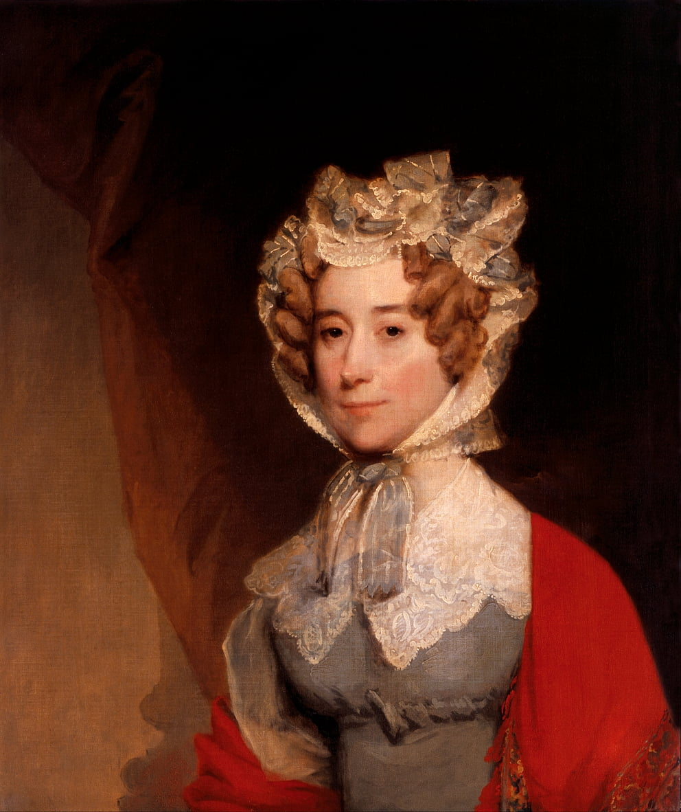 Louisa Catherine Johnson Adams (Mme John Quincy Adams) - Gilbert Stuart