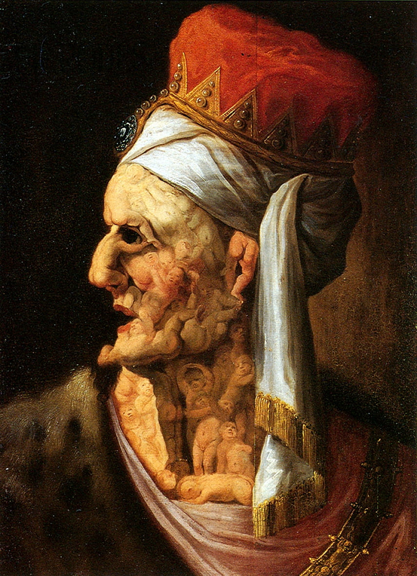 Chef D Herode De Giuseppe Arcimboldo