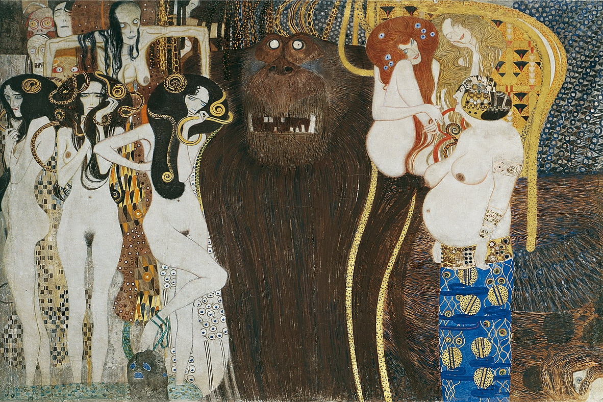 Beethoven Frieze - Gustav Klimt
