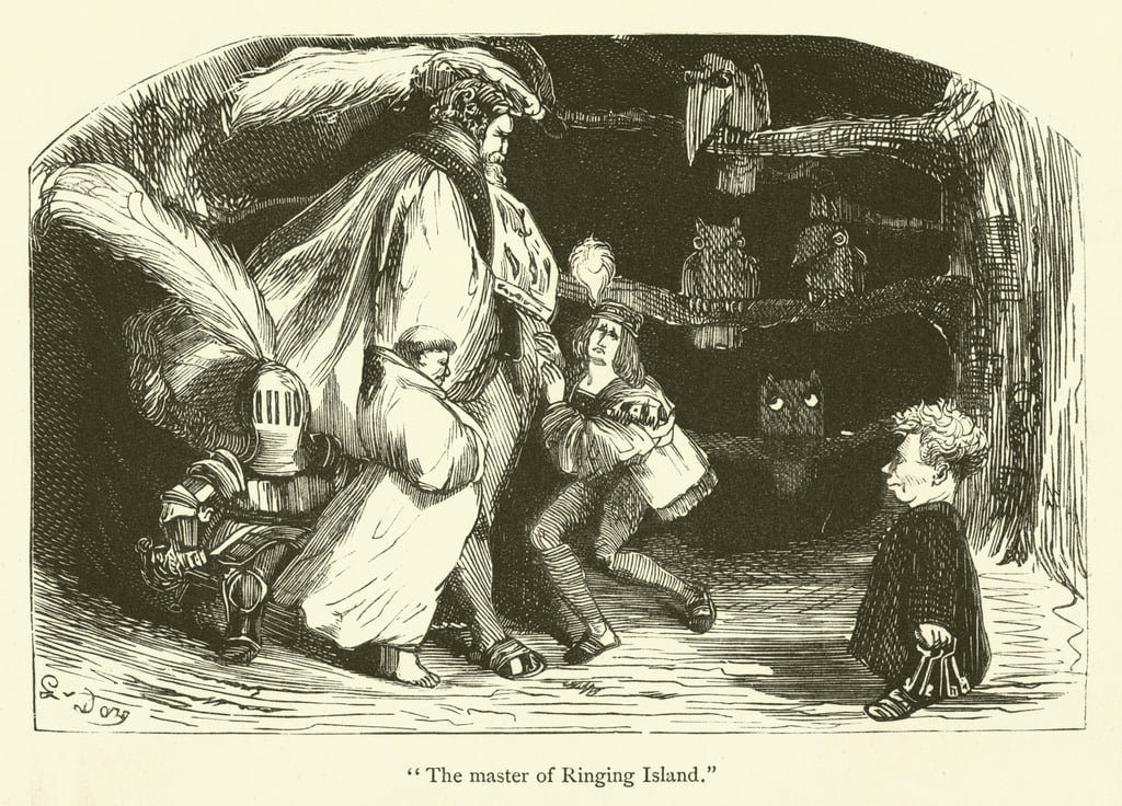 Illustration pour les travaux de Rabelais - Gustave after Dore