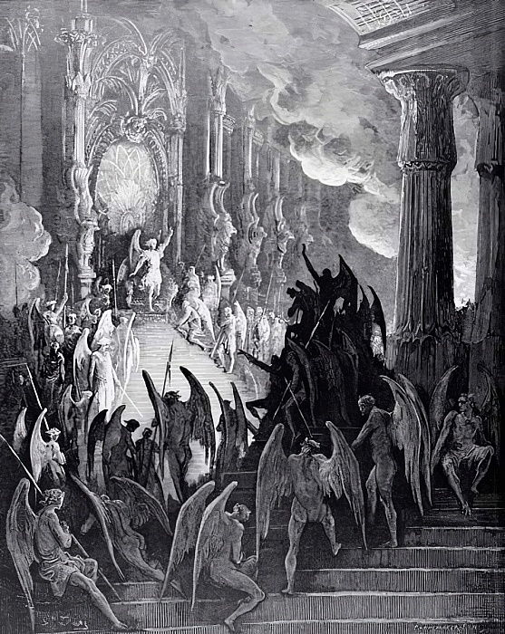 Satan in Council, extrait du Livre I de 'Parad...