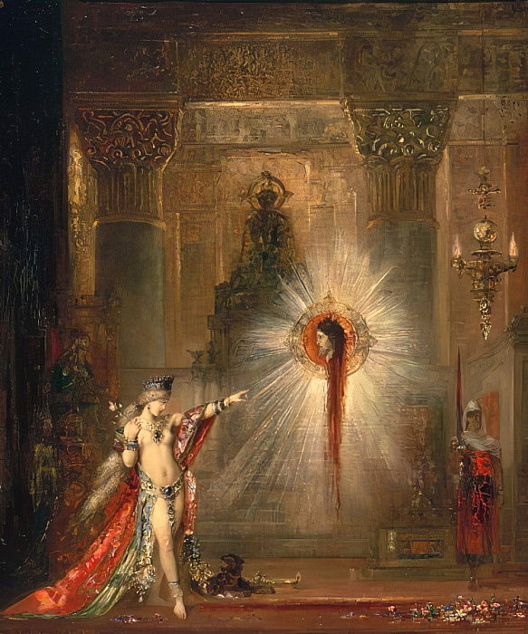 The Apparition, c.1876 - Gustave Moreau