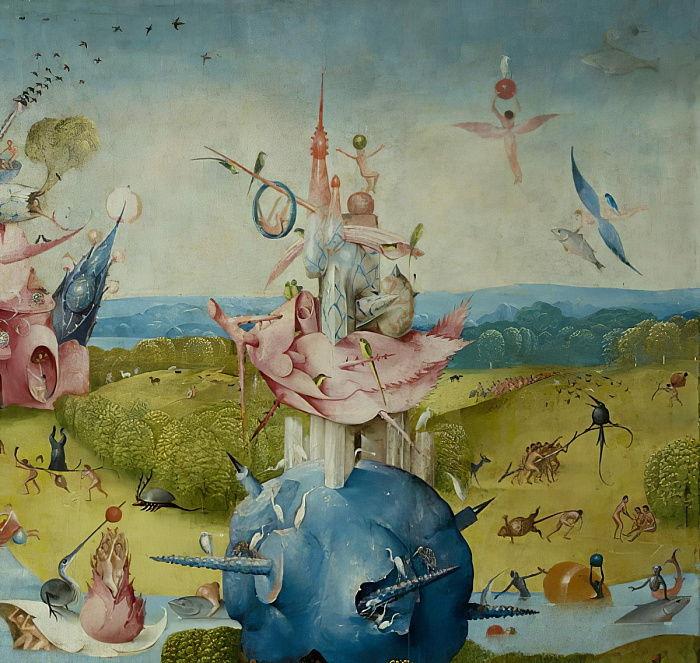 Le Jardin Des Delices Terrestres 1490 1500