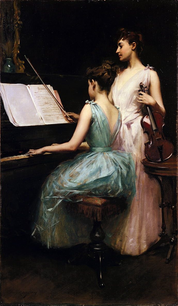 La Sonate - Irving Ramsay Wiles