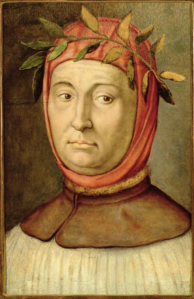 Portrait de Pétrarque (Francesco Petrarca) (1304-...