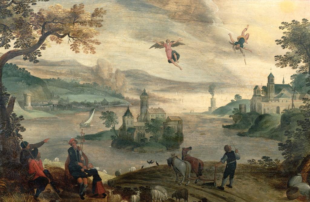 La chute d'Icare - Jacob Grimmer