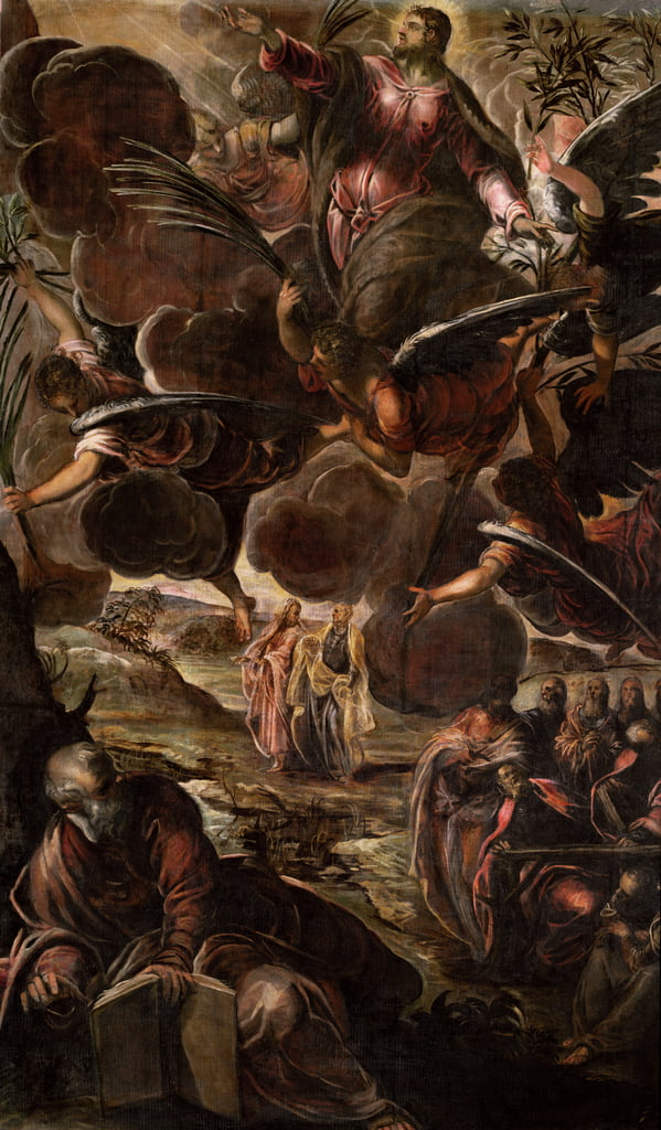 L&39;Ascension du Christ - Jacopo Robusti Tintoretto