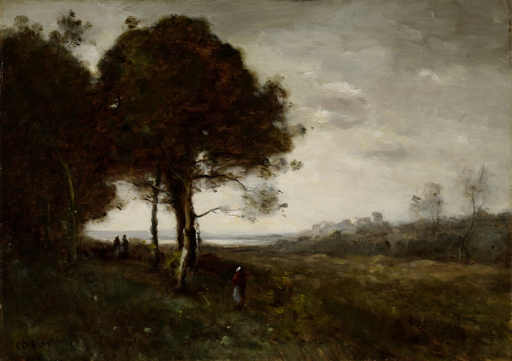 Paysage - Jean Baptiste Camille Corot